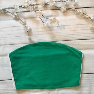 Garage Aqua Green Tube Top Medium